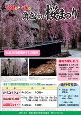 仙北市「角館の桜まつり」2015