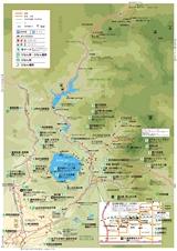 仙北市「田沢湖・西木観光マップ 地図」2020